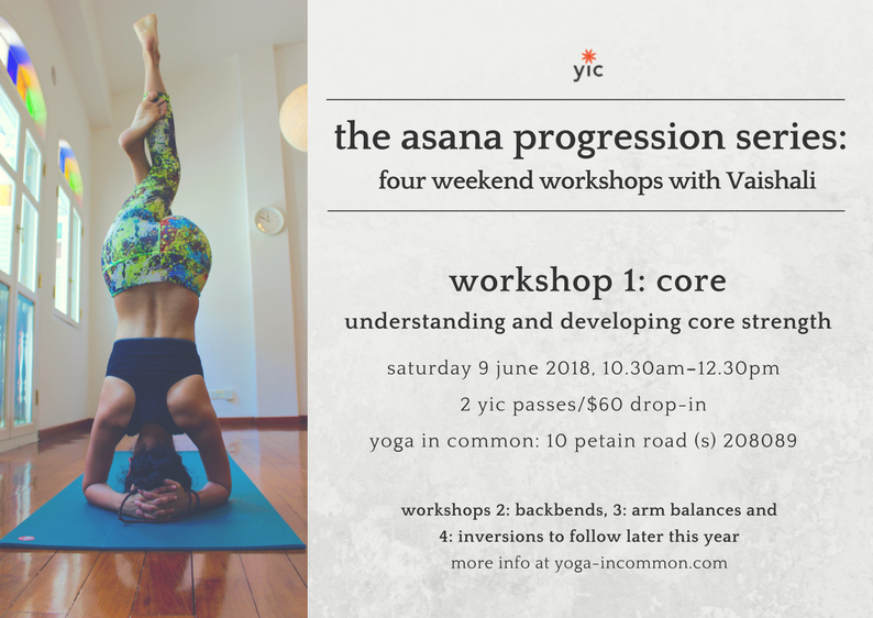 Asana Progression Core